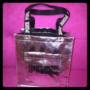 Victoria's Secret PINK Silver Bag